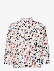 Papu - Boheme shirt Imagenation - kortærmede skjorter - multicolor - 0