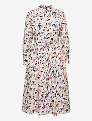Papu - Swing gown Imagenation - midi dresses - multicolor - 0