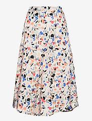 Papu - Midi Circle culottes Imagenation - midi kjolar - multicolor - 0