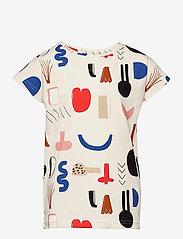 Papu - T-top Secret Worlds - t-shirts - multicolor - 0