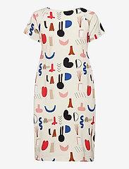 Papu - Kanto short sleeve dress Secret Worlds - sommerkjoler - multicolor - 1