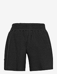 Papu - Wide shorts diagonal rib - shorts - black - 1