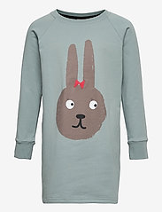 Papu - Oval dress Bunny - langärmelig - muted green - 0