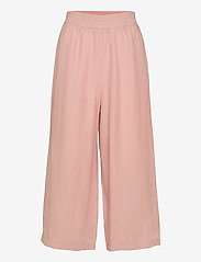 Papu - Linen culotte Free - bukser med brede ben - muted red - 0
