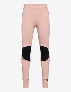 PATCH LEGGINGS - leggings - misty rose