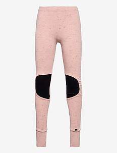 Patch leggings - leggings - melange pink