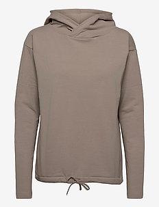 Pivot hoodie - sweatshirts & hættetrøjer - vole grey