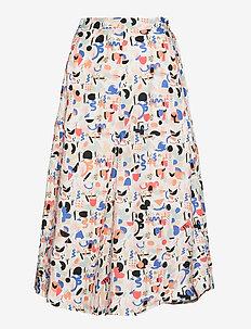 Midi Circle culottes Imagenation - midi kjolar - multicolor