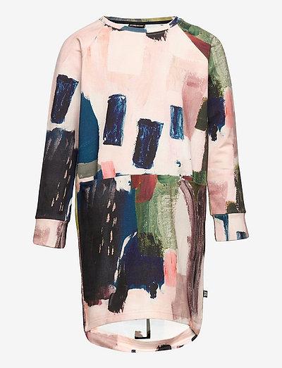 OVAL SPLIT TUNIC - jurken & rokjes - multicolor