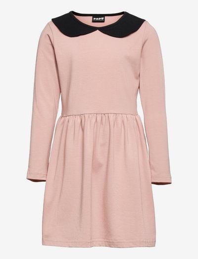 COLLAR DRESS - kjoler & nederdele - quiet rose