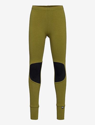 PATCH LEGGINGS - leggings - still green