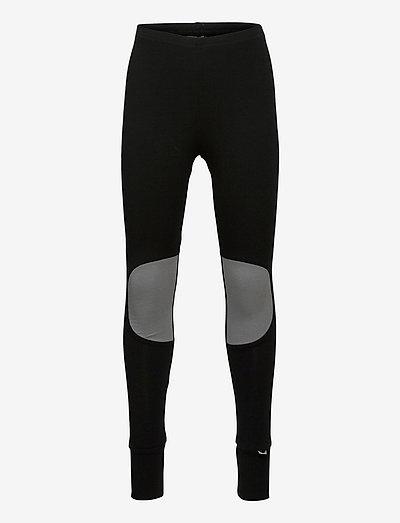 PATCH LEGGINGS KID - leggings - black, stone grey