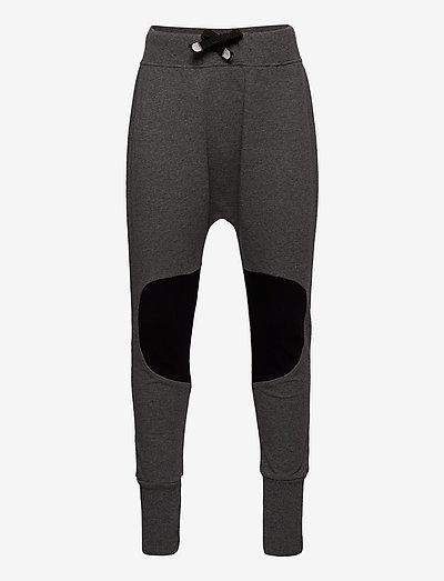 PATCH BAGGY KID - jogginghosen - melange grey