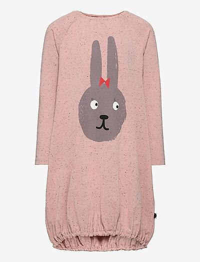 Pounch dress Bunny - dresses & skirts - melange pink