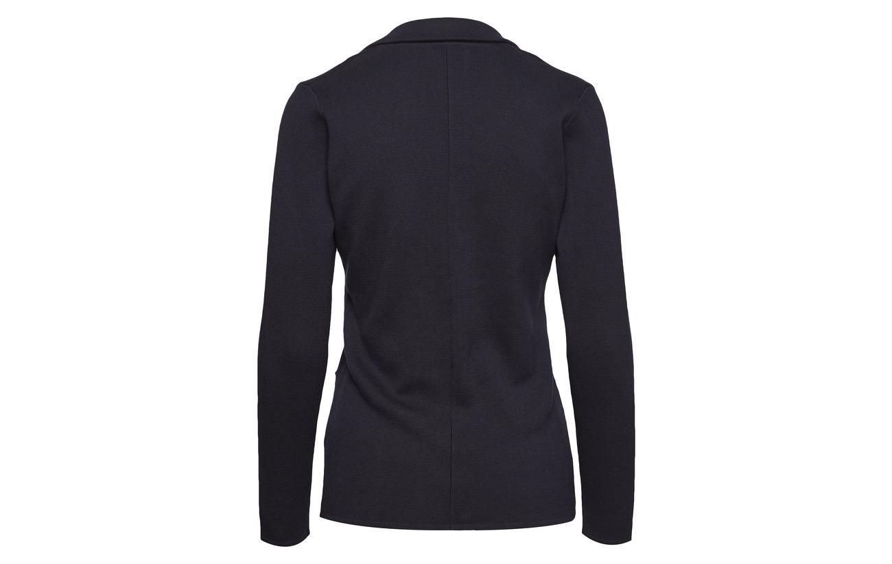 Park Knitted Blazer Navy Lane Coton 100 rvqpr4w
