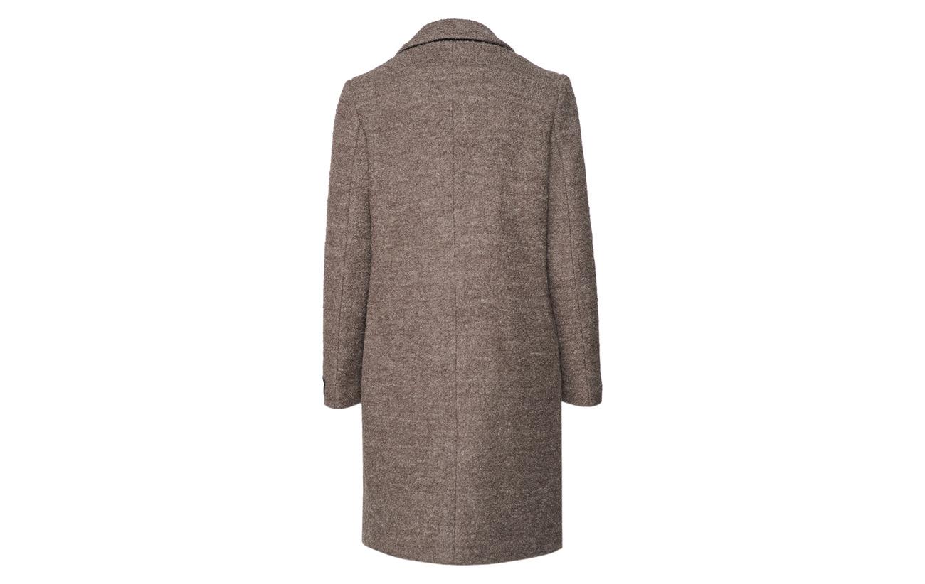 40 60 Lane Boucle Coat Dark Park Grey Polyester Woold OwgXqSqH