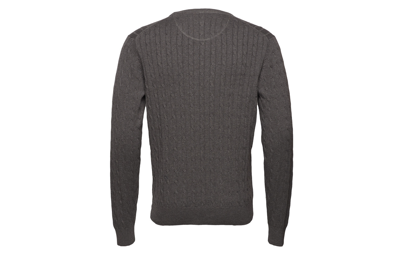 Cable Winered R Lane neck Park Pullover BT456w