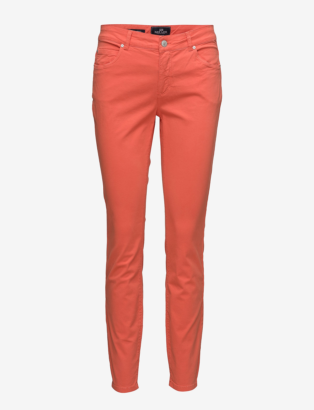 Park Lane - Hayley twill - spodnie rurki - 419 coral - 0