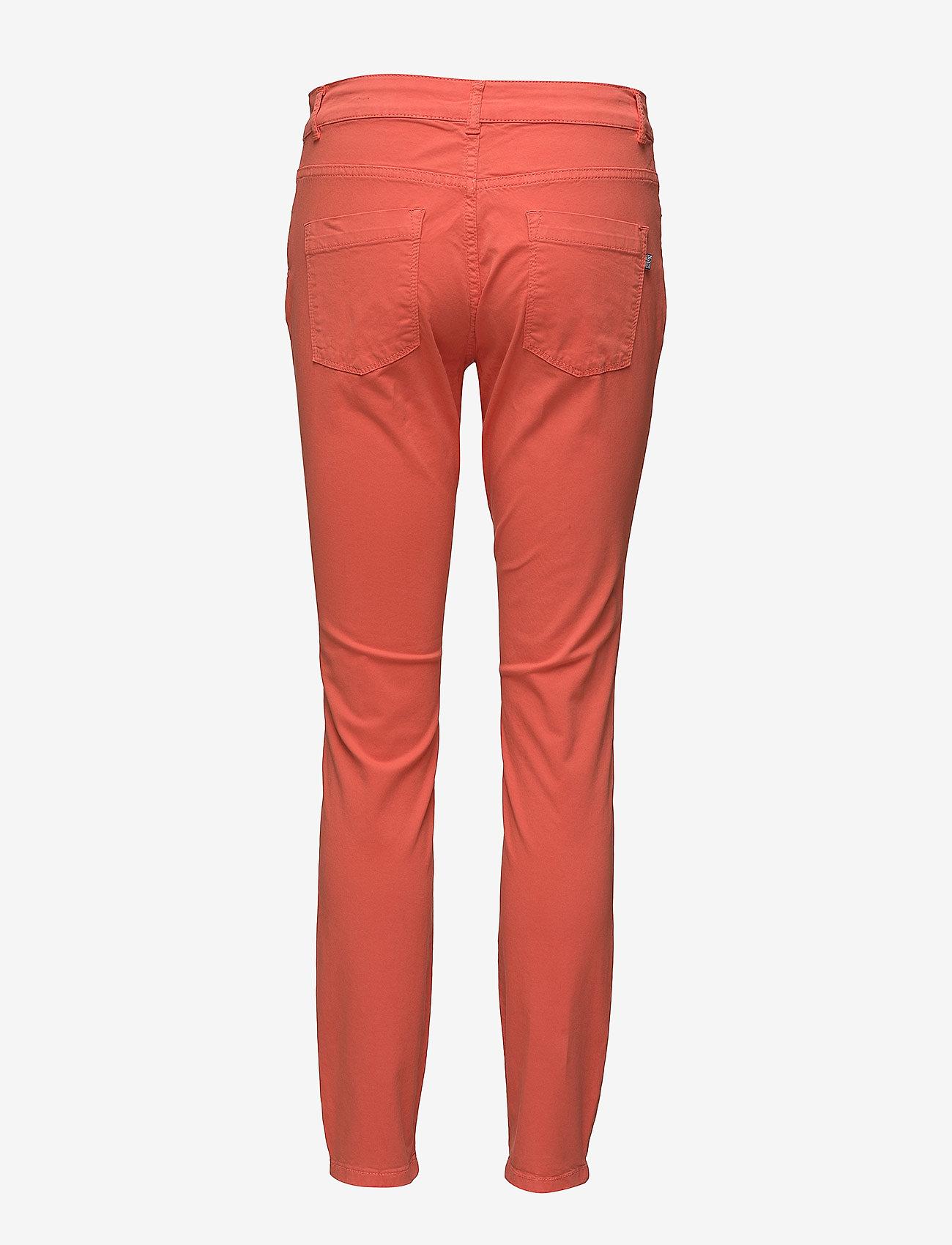 Park Lane - Hayley twill - spodnie rurki - 419 coral - 1