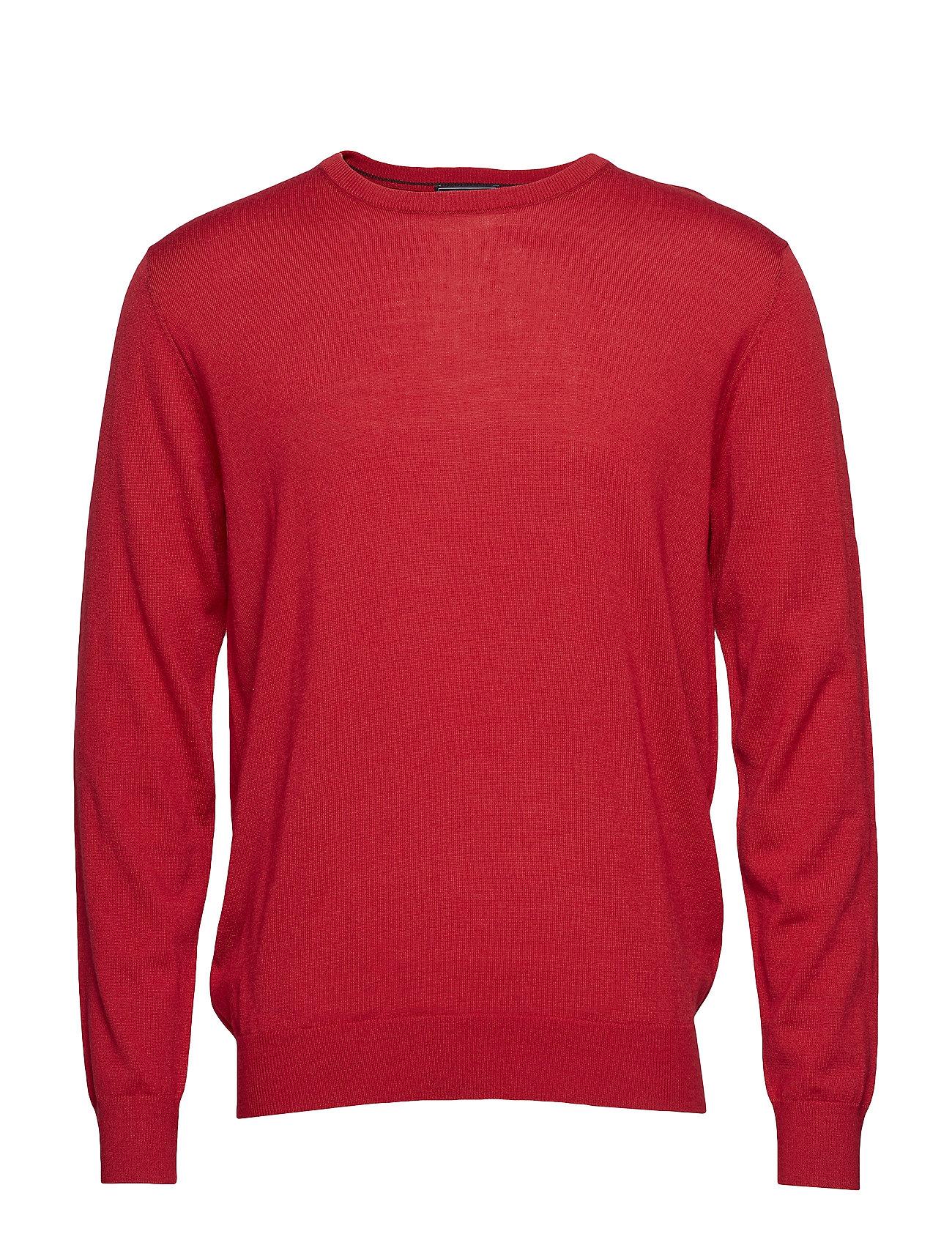 Park Lane Pullover r-neck merino - RED
