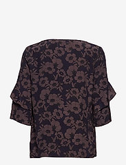 Park Lane - Blouse - blouses à manches courtes - navy flower - 1