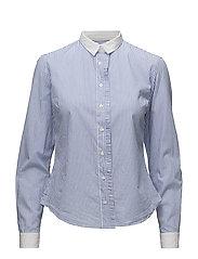 Pleat shirt - CHAMBRAYBLUE