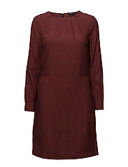 Viscose dress - CORAL