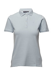 Polo pique - 307 LIGHT BLUE