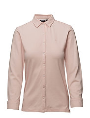 Polo pique 3/4 sleeve - 422 LIGHT PINK
