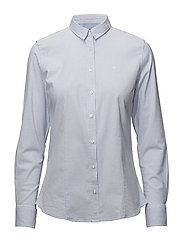Classic oxford shirt - 318 LIGHT BLUE STRIPED