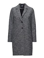 Bouclé coat - 300 NAVY
