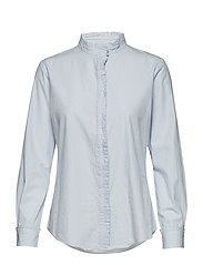 Blouse pleat - LIGHTBLUE