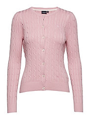 Cable cardigan - PINK