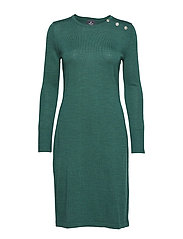 Dress merino - GREEN
