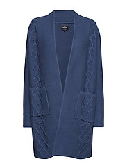 Cardigan long - DENIMBLUE