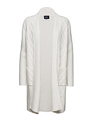 Cardigan long - OFFWHITE