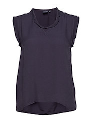 Top, sleeveless - NAVY