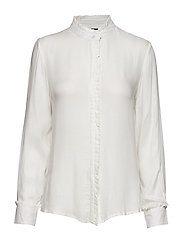 Pleat blouse - OFFWHITE