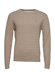 Cable pullover R-neck - MOLE
