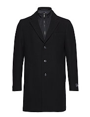 Coat with innerjacket - NAVY