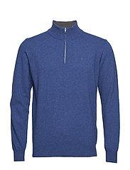 Zip pullover - DENIMBLUE