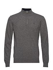 Zip pullover - MIDGREY