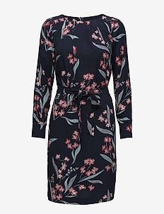 Dress - midiklänningar - navy pattern