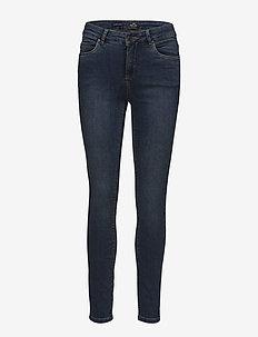 """Hayley basic """"superstretch"""" - slim jeans - medium indigo washed"""