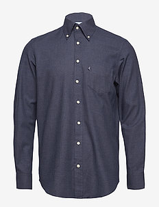 Shirt l/s - business-hemden - navy