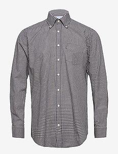 Shirt l/s - karierte hemden - navy
