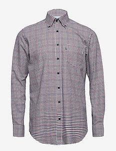 Shirt l/s - karierte hemden - red