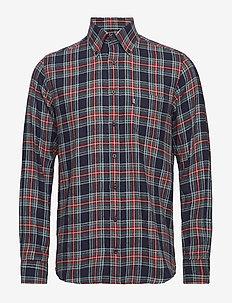 Shirt l/s - karierte hemden - green
