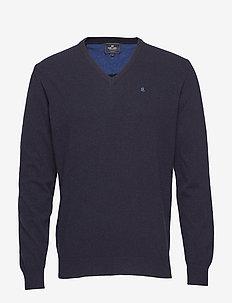 Pullover V-neck - NAVY