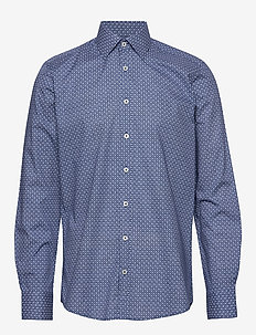 Shirt l/s - BLUE